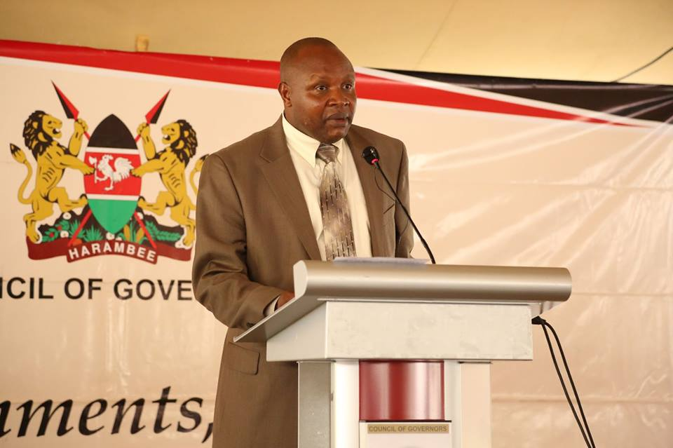 Image result for Kericho Governor Prof Paul Chepkwony