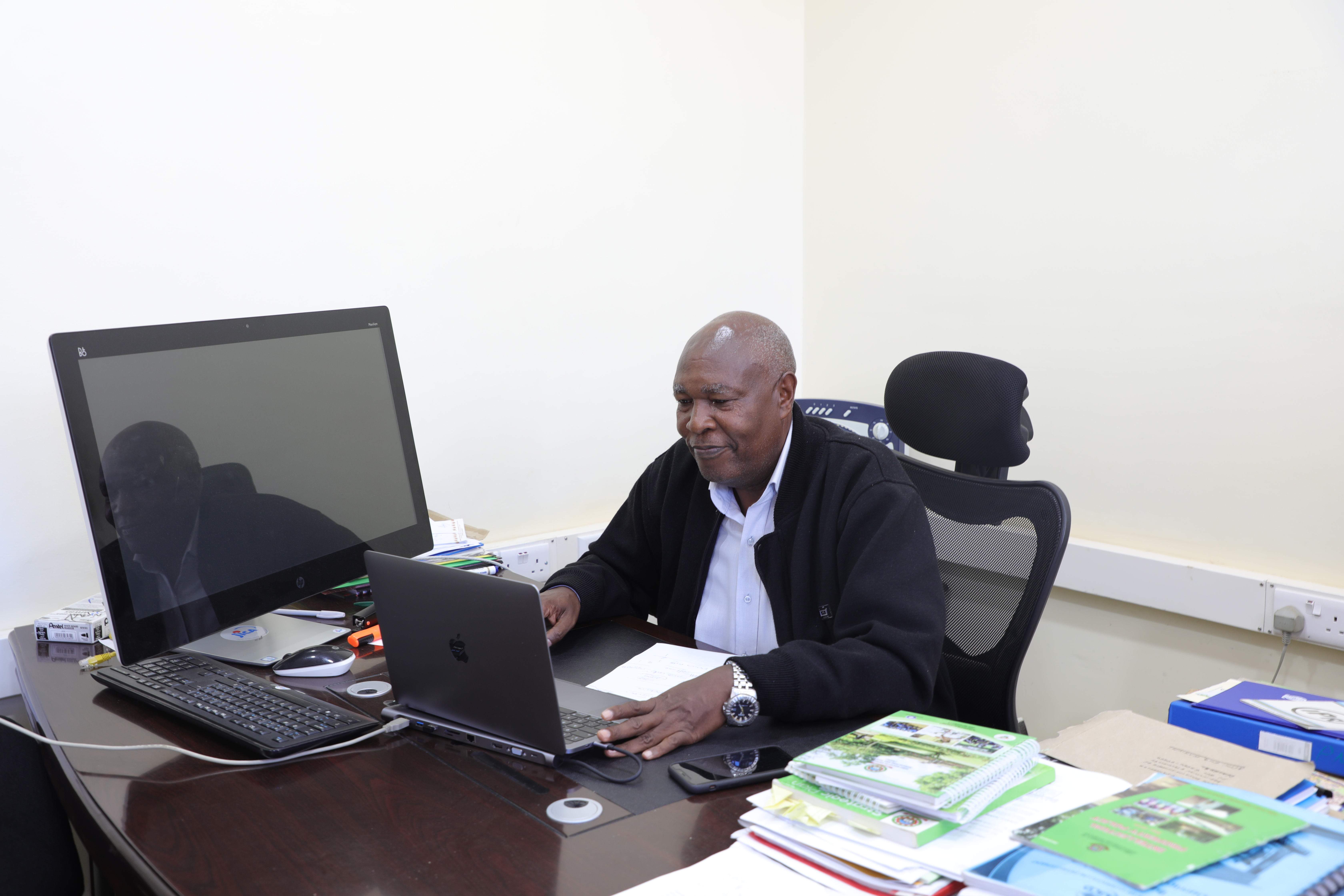 Eng. B. K. Kariuki Director the Director of Intellectual Property and University-Industry Liaison (DIPUIL)