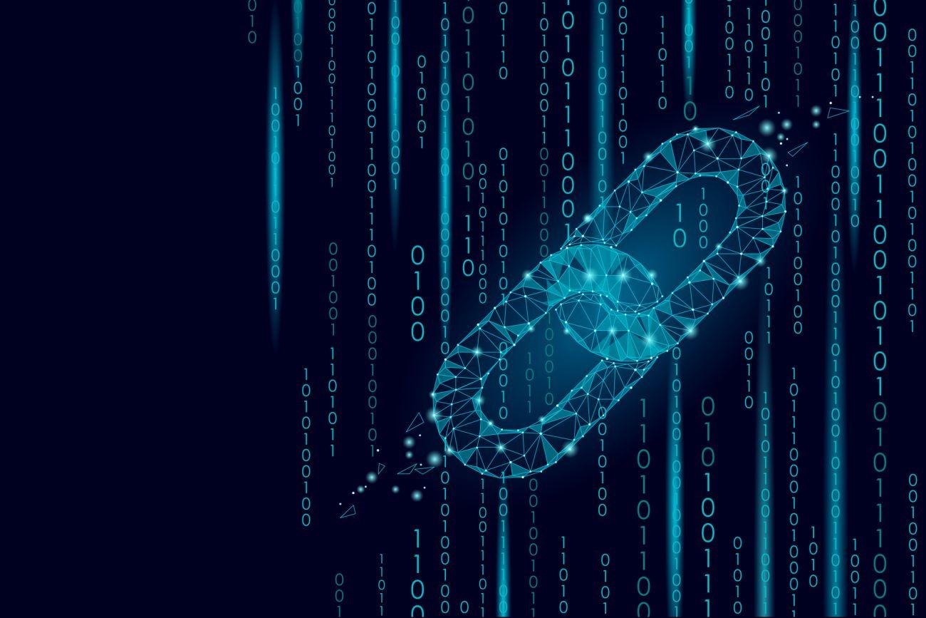 how the blocks interlink in a blockchain