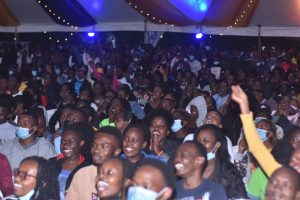 JKUAT Students during the Mr. and Miss JKUAT competition
