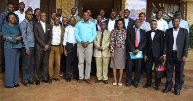 Participants pose for a group photo after the event.