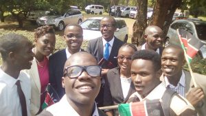 Well, lets just say if you go to State House, its only fair to ensure you atleast take a selfie