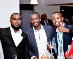 From left: Charles Imo, Javan Owino and Seroney Memba, the Eastpesa team