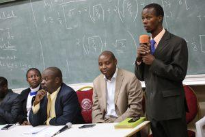 ICT Director Mwirigi Kiula addressing the forum.