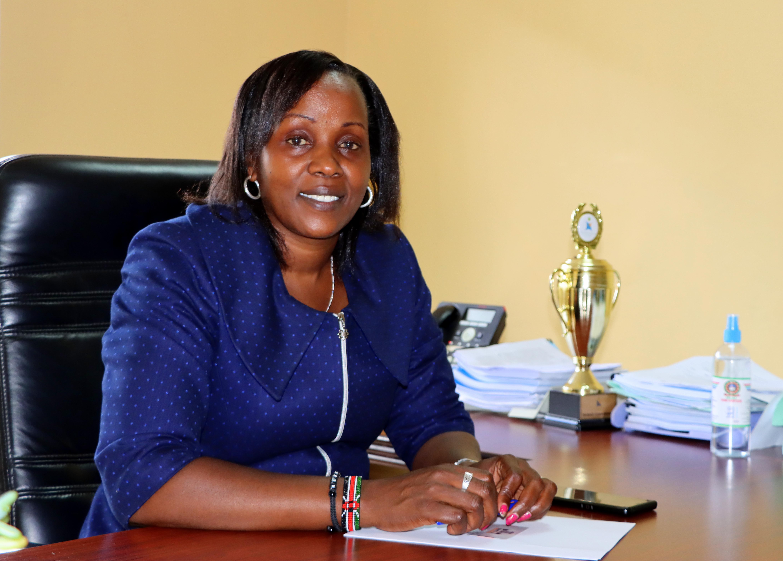 Prof. Helen Mberia, Dean School of Communication and Development Studies (SCDS), JKUAT.
