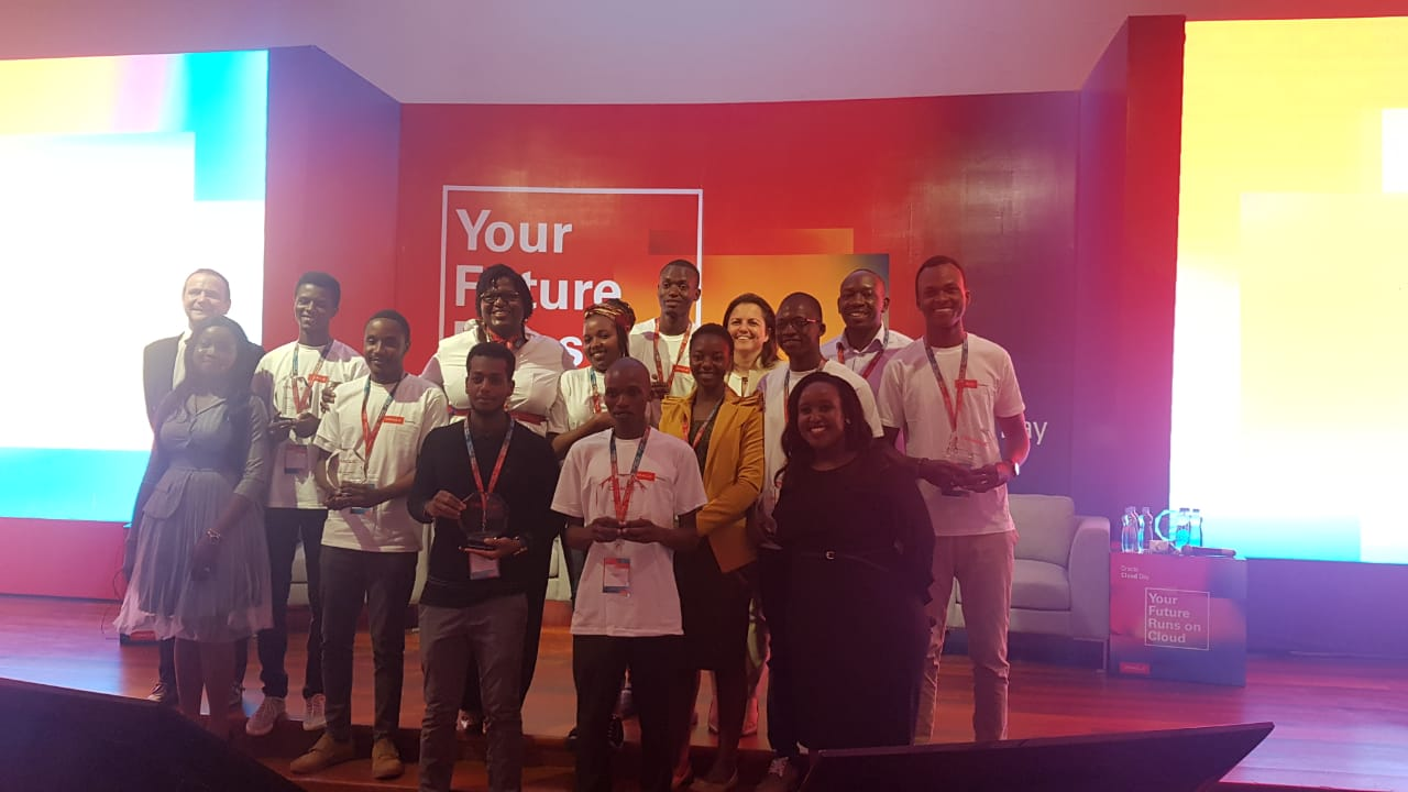 The Oracle Academy  Hackathon Winners All Smiles