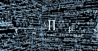 black mathematics board with formulas